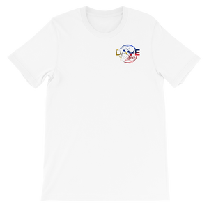 Short-Sleeve Unisex T-Shirt- Philippines logo - Dave D'Marco Clothing