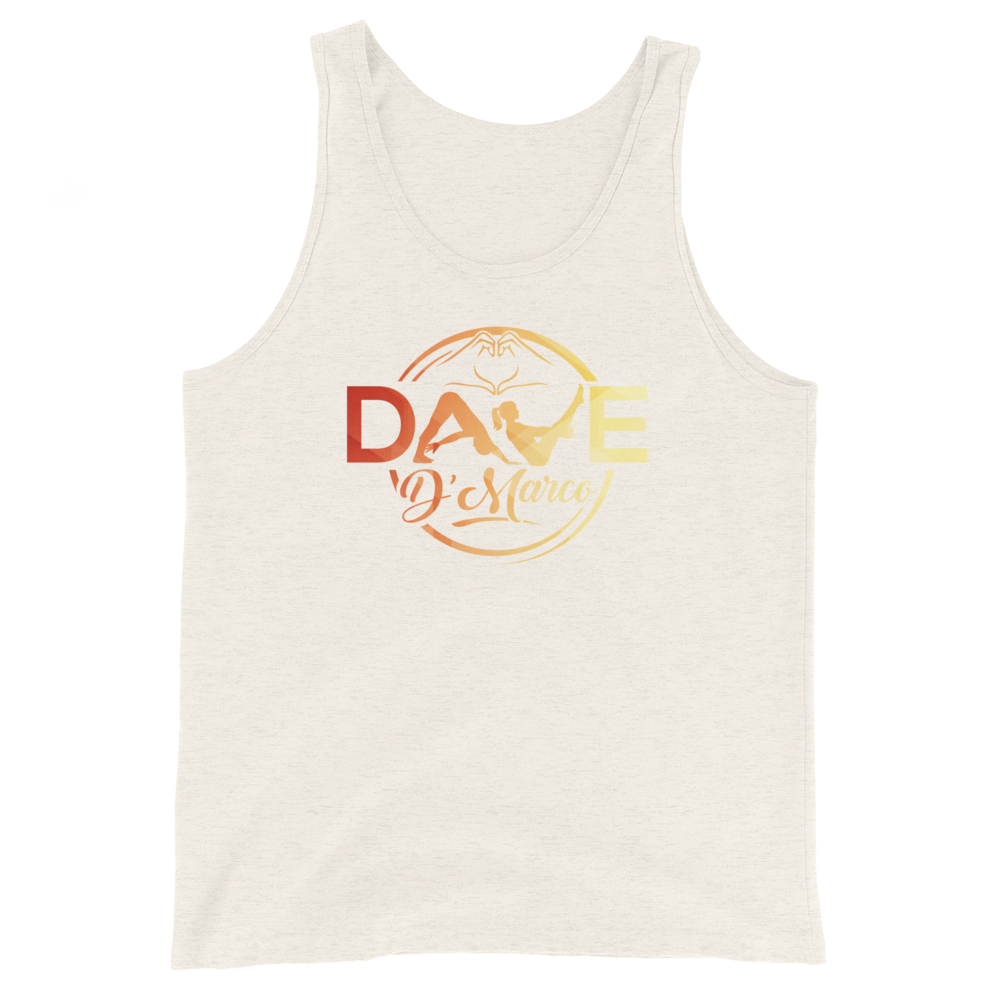 Unisex Tank Top- signature logo (front only) - Dave D'Marco Clothing