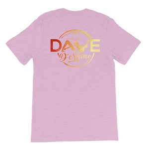 Short Sleeve Jersey T-Shirt - Signature Sunset Logo - Dave D'Marco Clothing