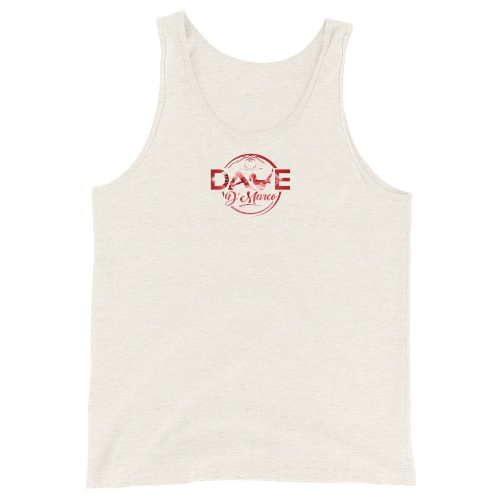 Jersey Tank - Red Diamond Logo - Dave D'Marco Clothing
