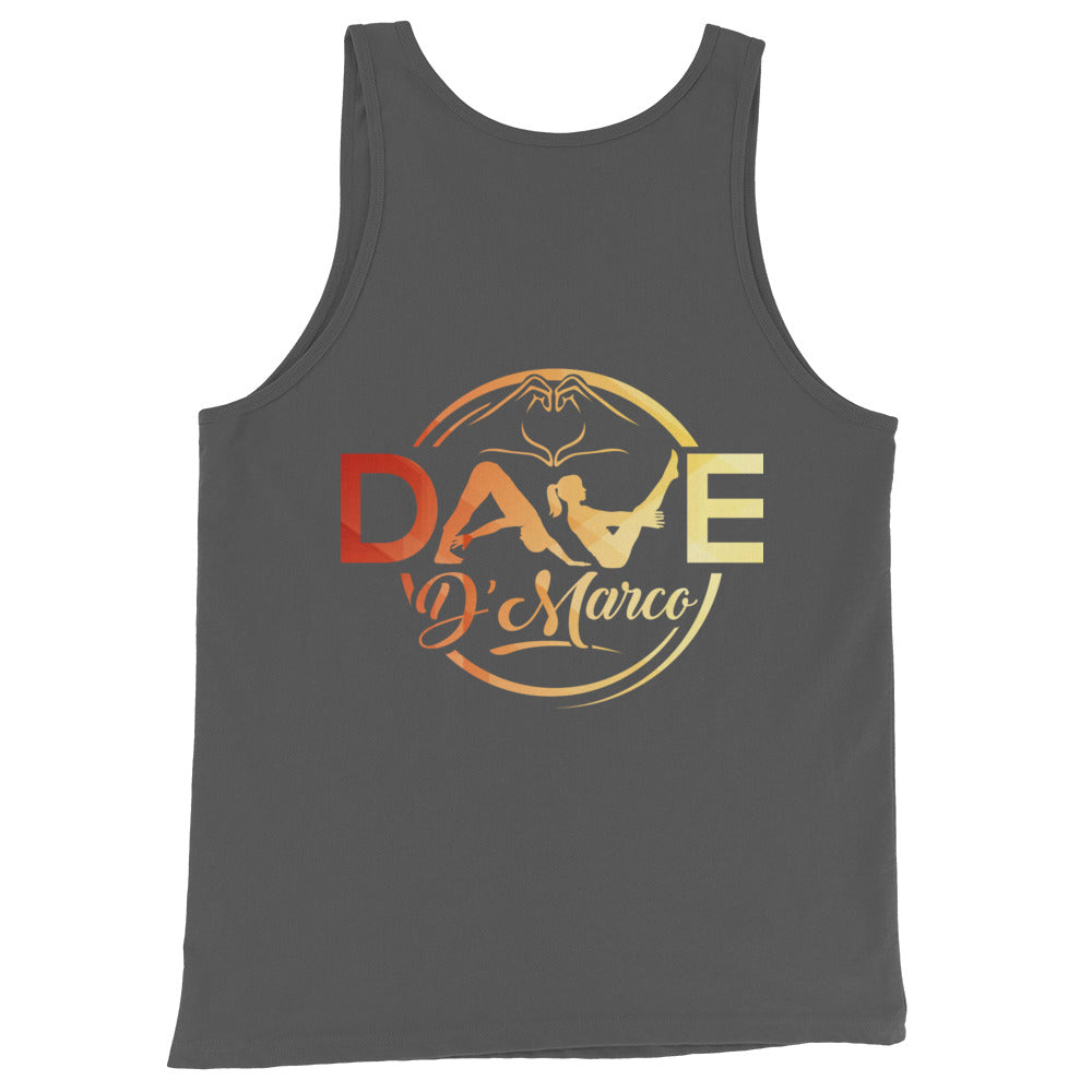 Jersey Tank Top - Signature Sunset Logo - Dave D'Marco Clothing