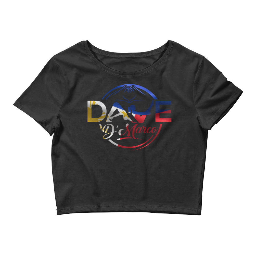 Women's Crop Tee- Philippines