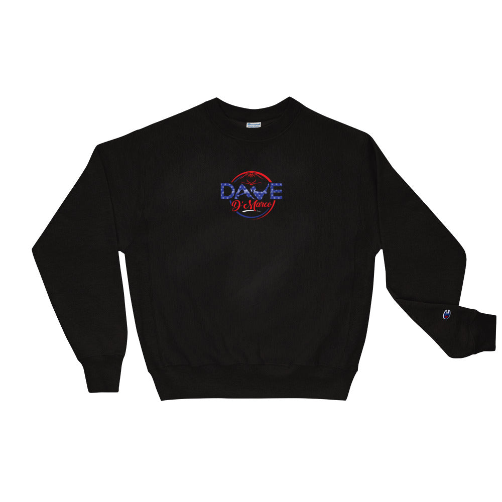 Champion Crewneck Sweatshirt - 4th of July Logo - Dave D'Marco Clothing