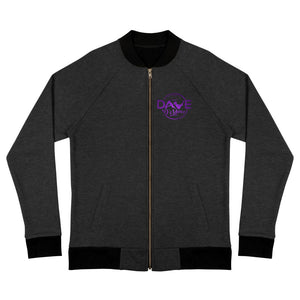 Bomber Jacket - Amethyst logo - Dave D'Marco Clothing