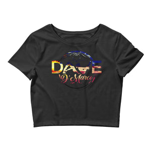 Women's Crop Tee- Philippines Sunset - Dave D'Marco Clothing