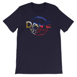 Short-Sleeve Unisex T-Shirt- Philippines logo (front only) - Dave D'Marco Clothing