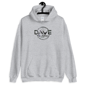 Hooded Sweatshirt - City Skyline Logo - Dave D'Marco Clothing