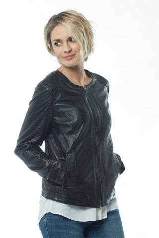 Mia Leather Jacket from Kaja Clothing