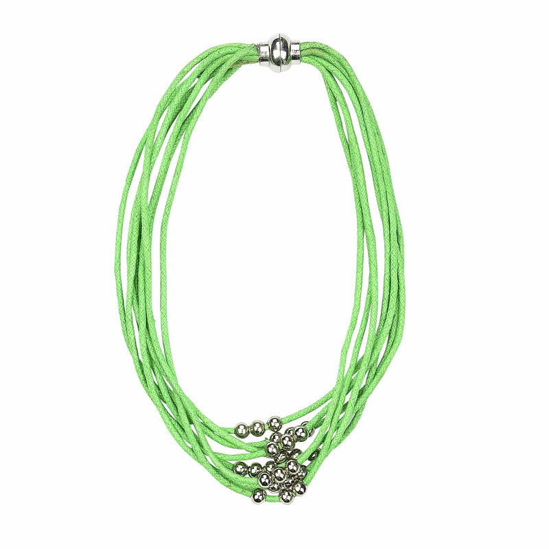 EVELYN - Bracelet /Choker necklace -GREEN