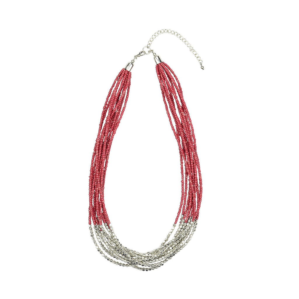 ANTHEA - Necklace coral