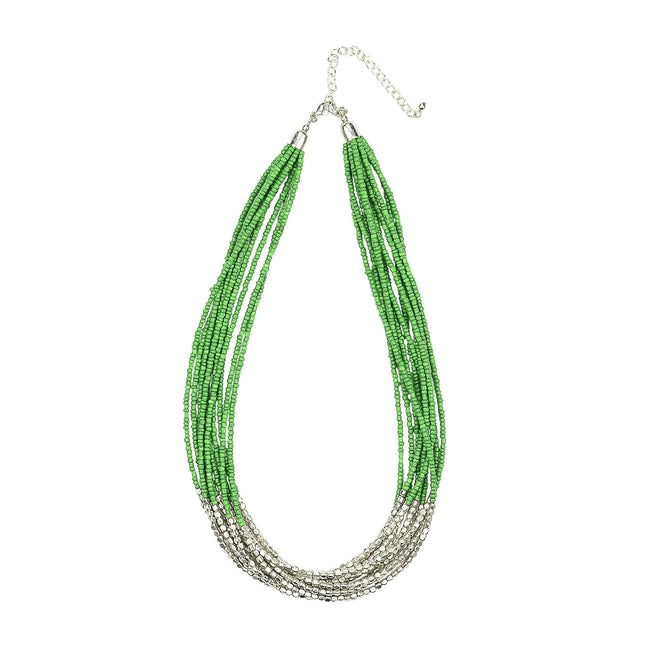 ANTHEA - Necklace Green
