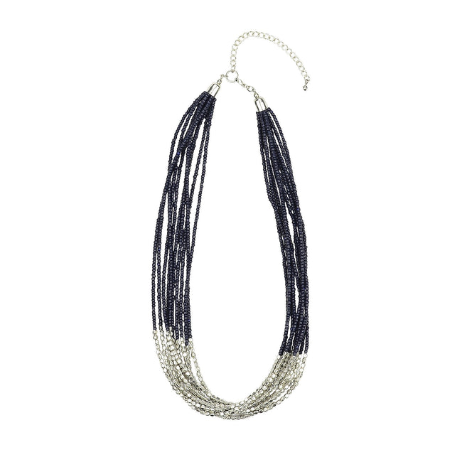 ANTHEA - Necklace navy