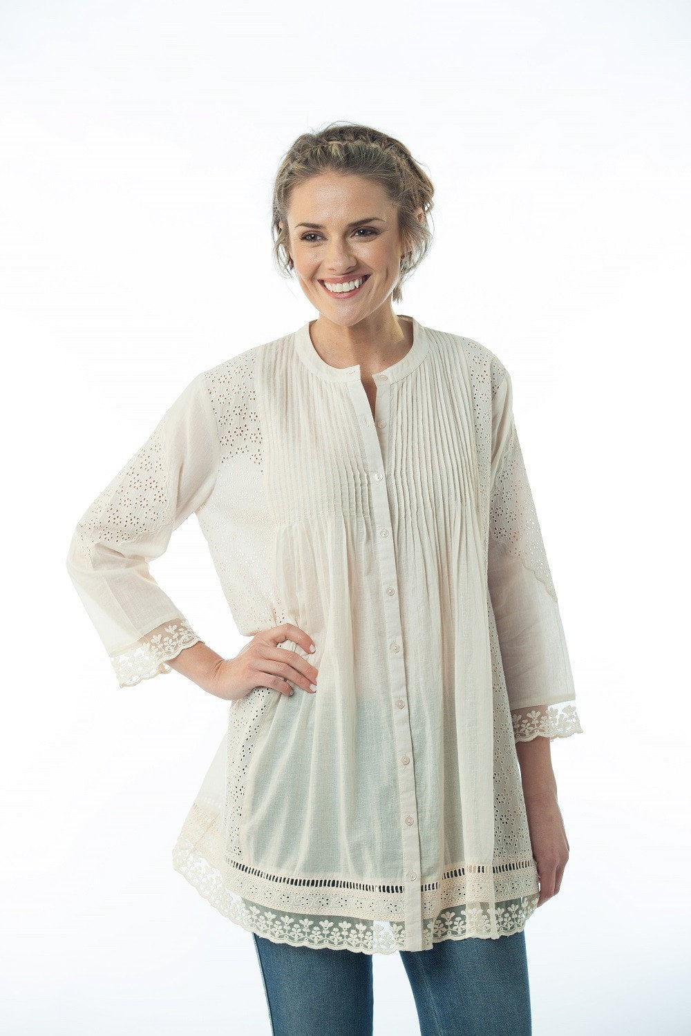 Telise tunic  - Light Pink