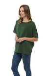ANGELICA Poncho - Forest Green