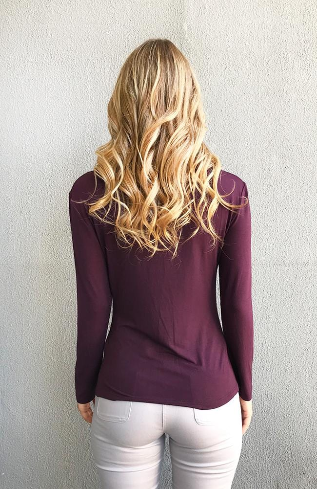 BECKY Top - Purple