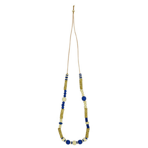 BIRCH - Necklace Navy multi