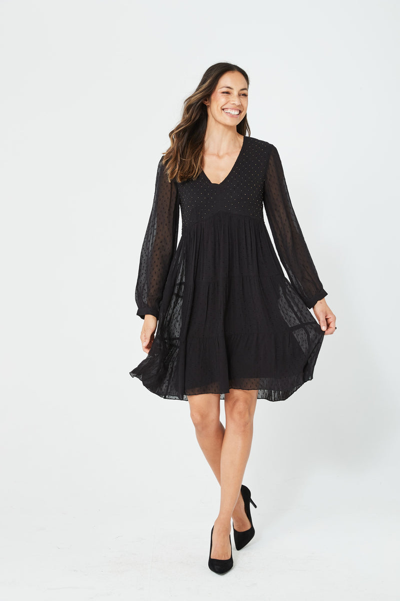 Winny Dress | Black