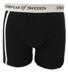 Underwear of Sweden Boxer Shorts- Black/White