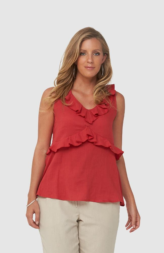 BREE Top | Red