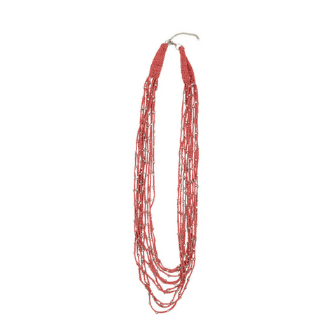 BROOKE - Necklace  coral