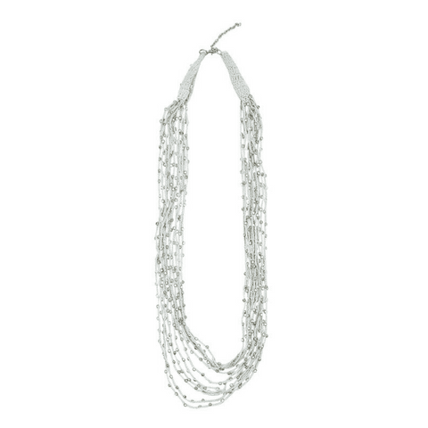 BROOKE - Necklace Grey