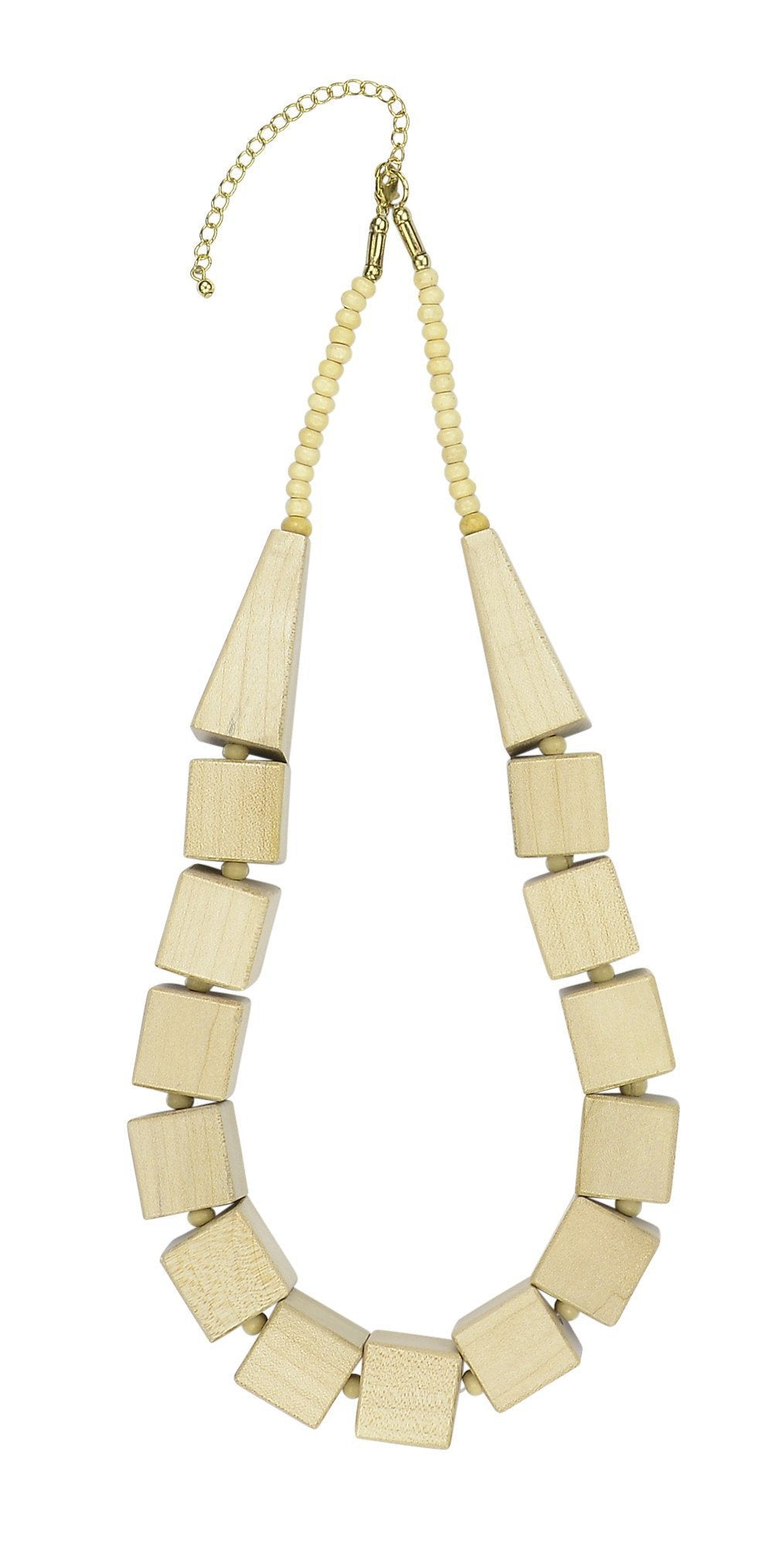 BROOKE - Necklace Natural Wood