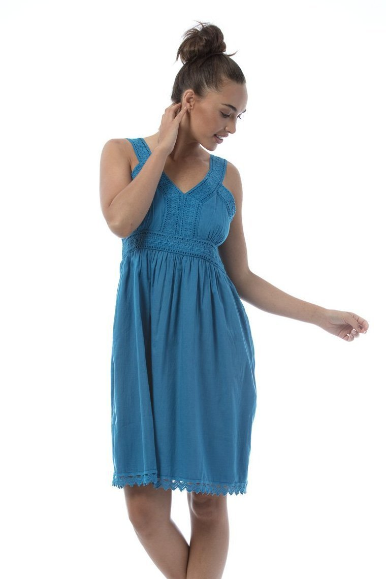 CHLOE Dress - Daphne blue