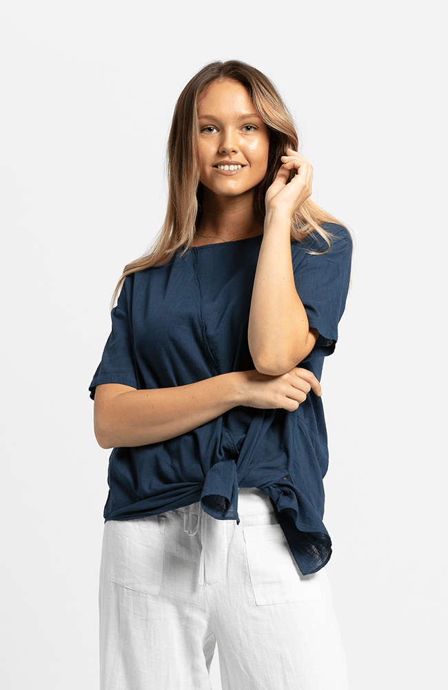 CHRISSY Tunic - Navy