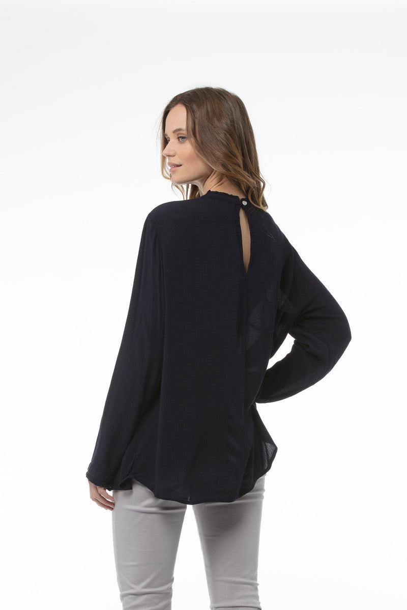 claudia-top-navy