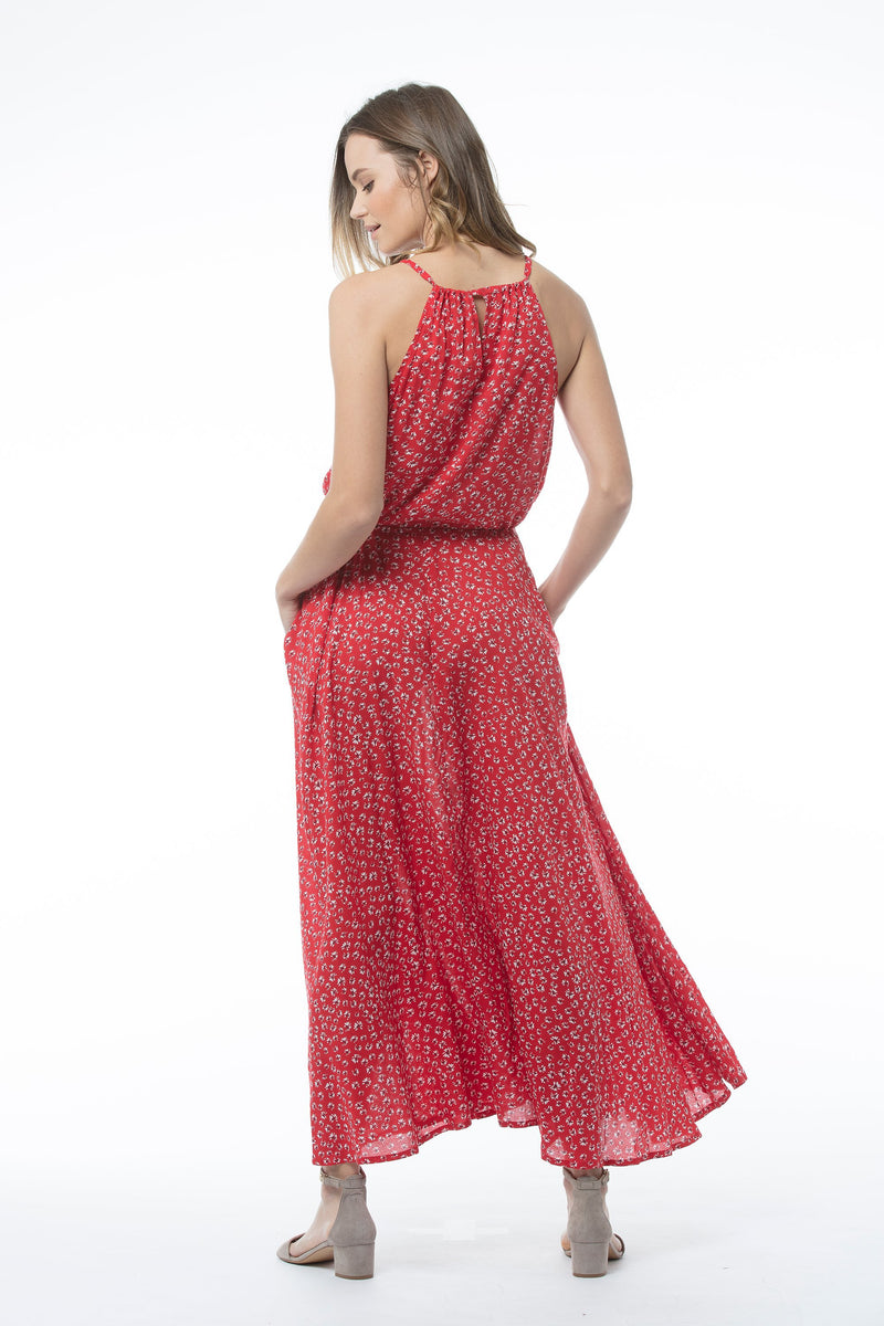 CLOETTA Dress - Red Print