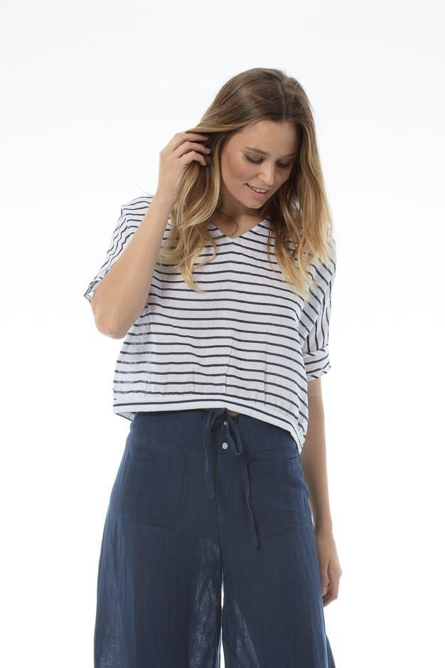 COLETTE Top - STRIPE