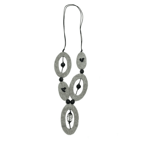 DAPHNE Necklace - Grey