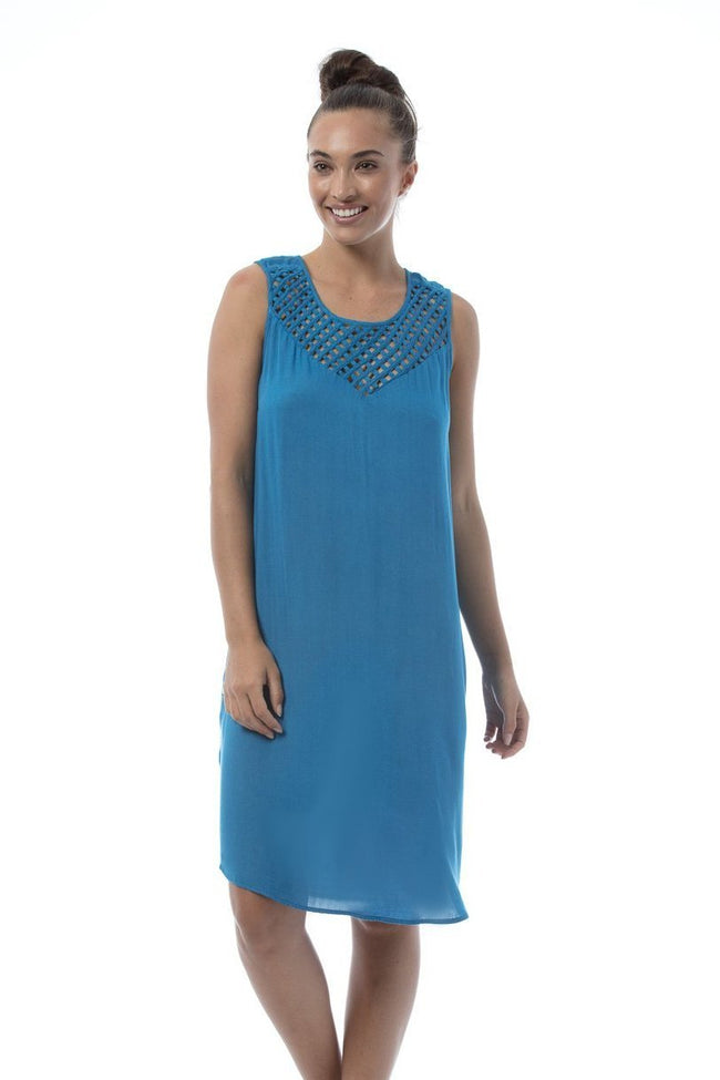 DELIA Dress - Daphne blue