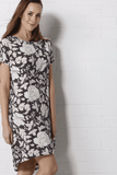 DENICE Dress - Grey Print