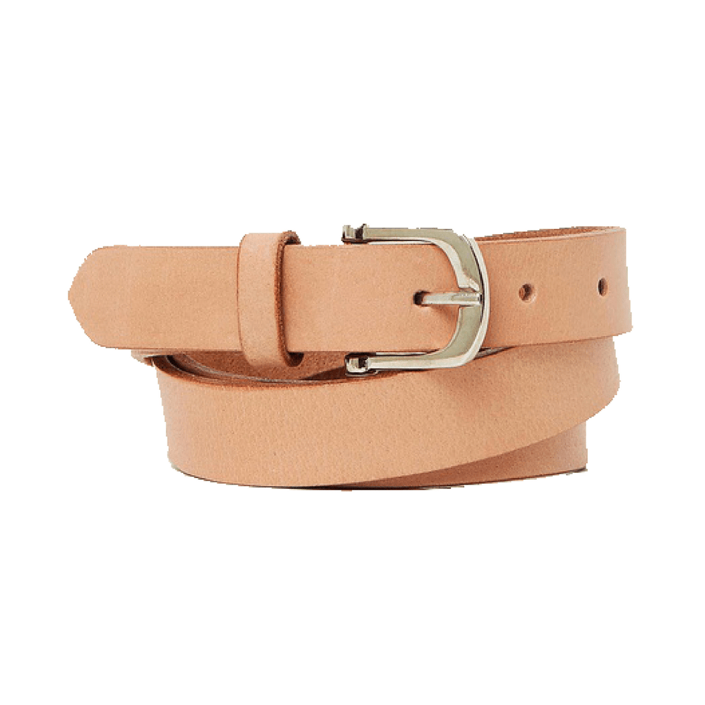 DENVER - Leather Belt Pink