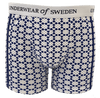 Underwear of Sweden Boxer Shorts- Diamond Pattern