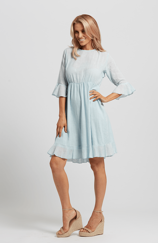 DUSTY Dress - Light Blue
