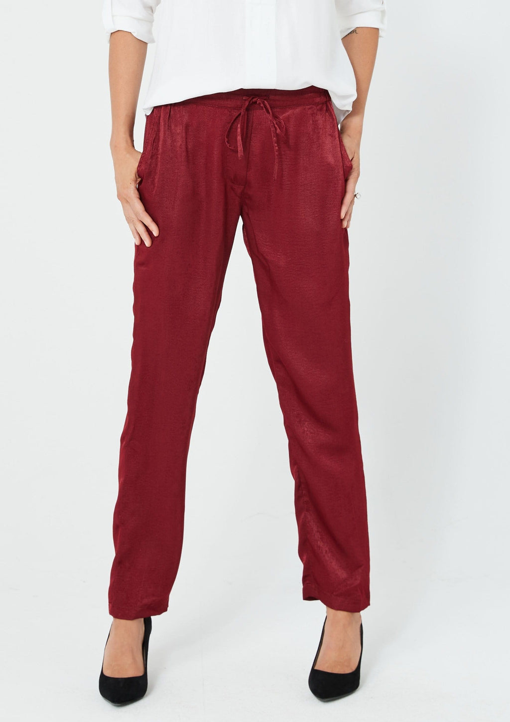 Fabina Trousers | Red