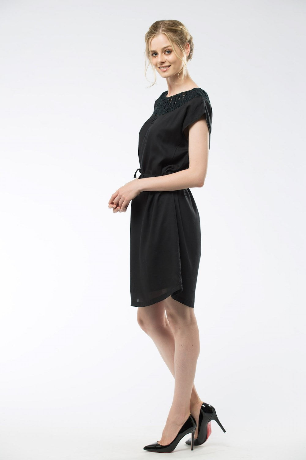 TESS- Dress Black