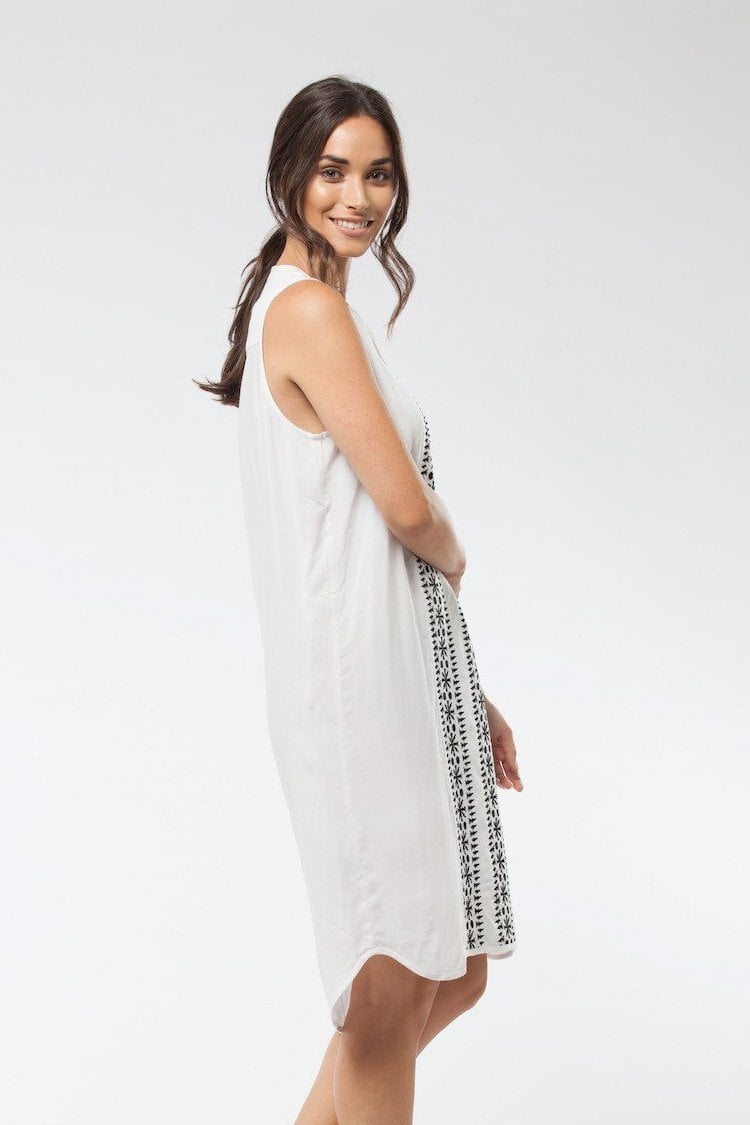 YASMIN - Dress White