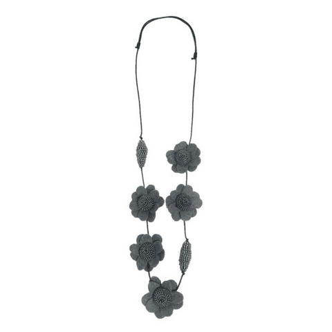 FIONA Necklace - Grey