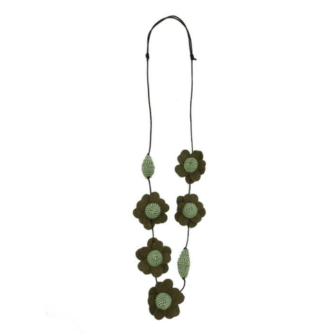 FIONA Necklace - Green