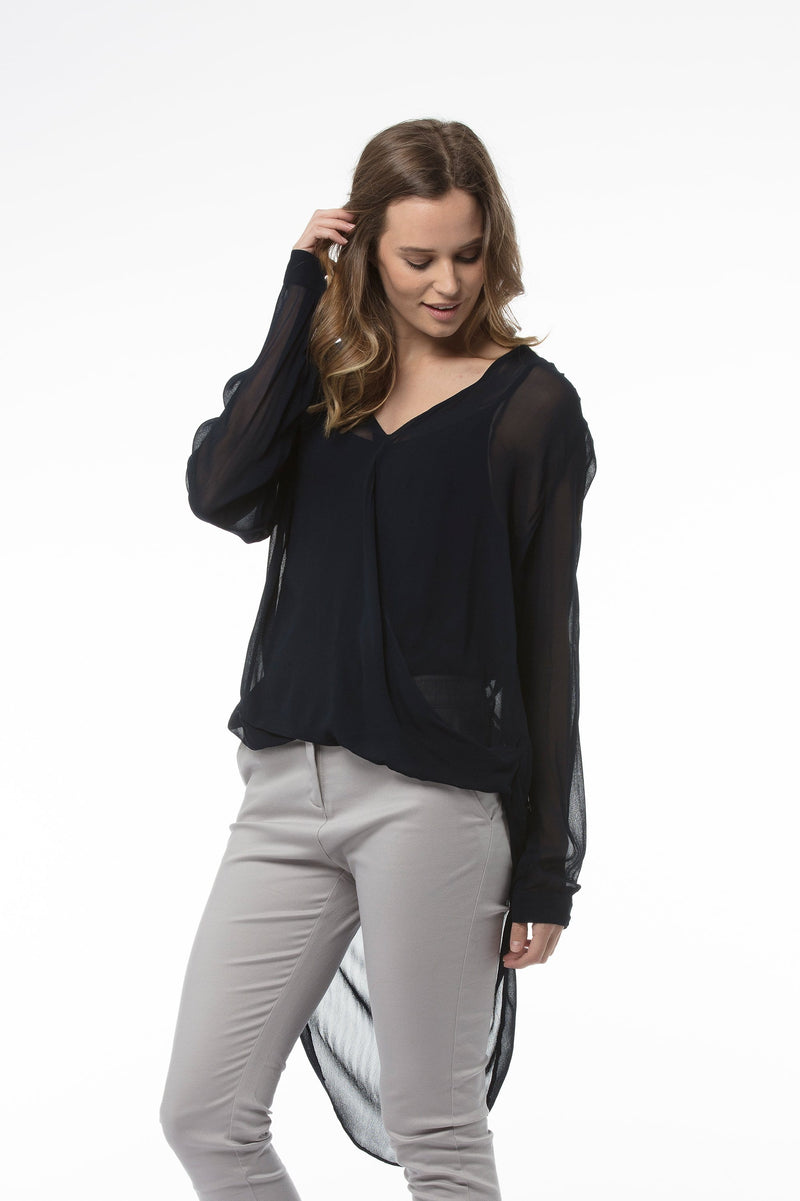 FIONA Top - Black