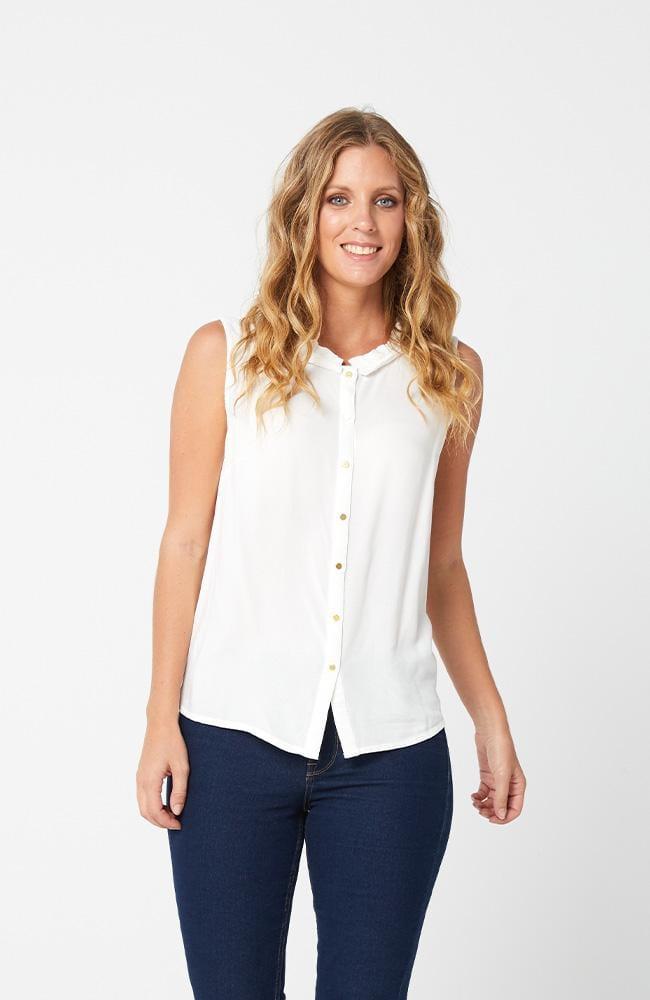 GABRIELLA Top -White
