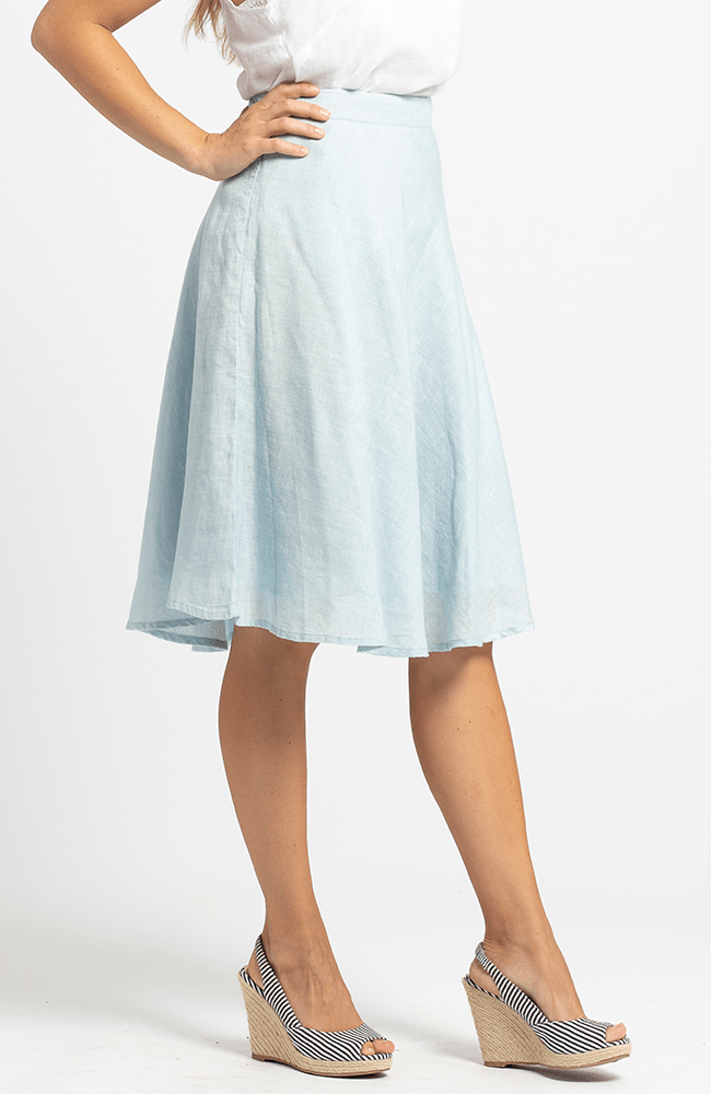 GAIL Skirt - Light Blue