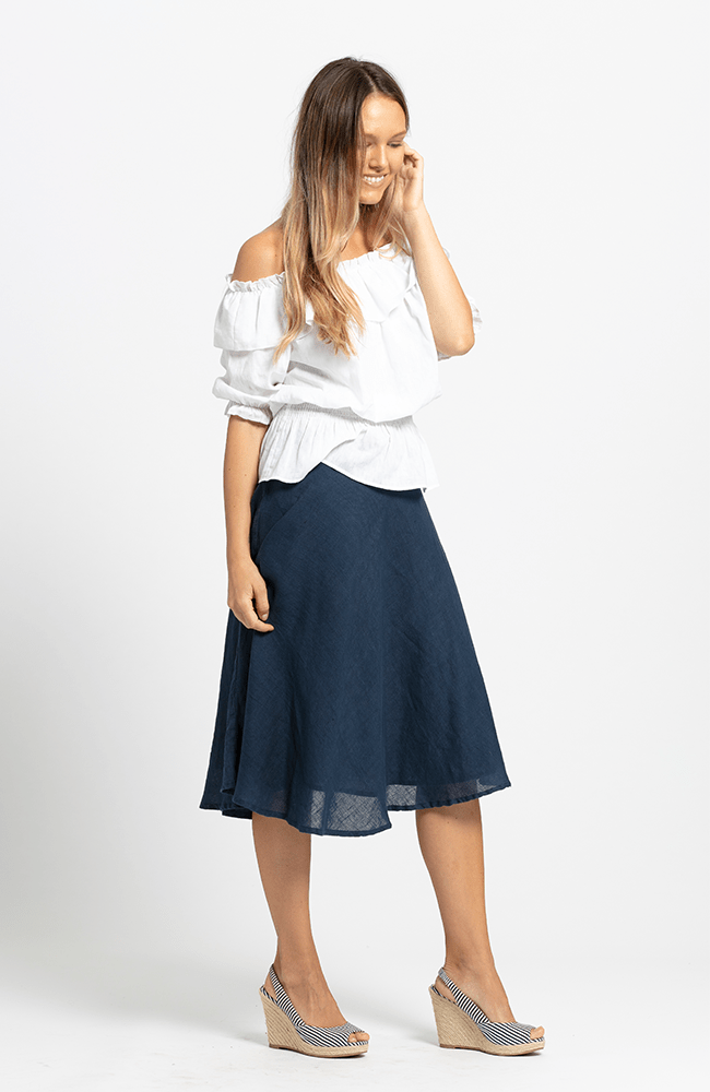 GAIL Skirt - Navy