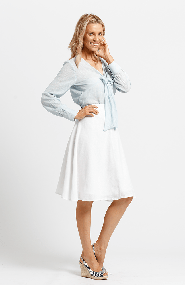 GAIL Skirt - White