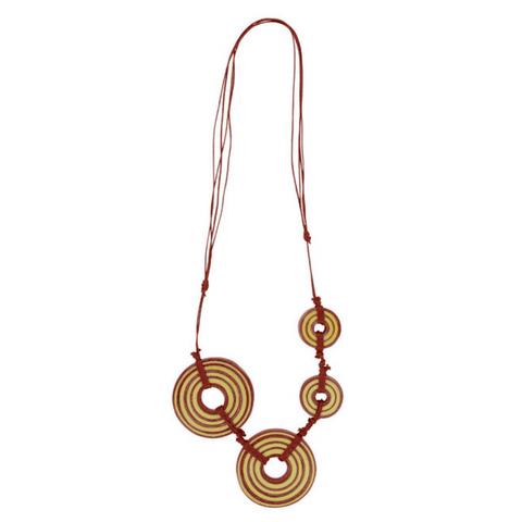GARDENIA -  Necklace Red