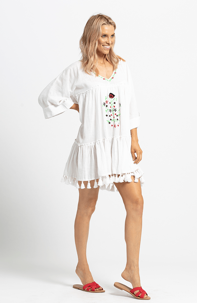 GINNY Dress - White