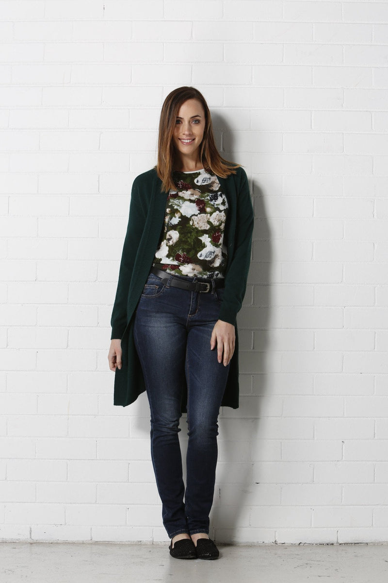 GLORY Cardigan - Green